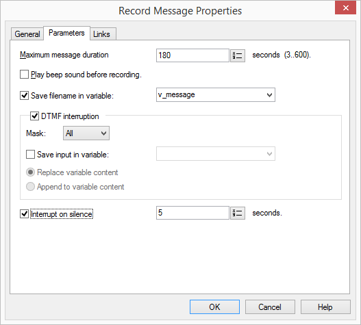 Record Message